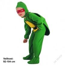 Karnevalový kostým ŽELVA 92 - 104cm ( 3 - 4 roky )